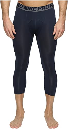Nike Hommes's Pro Cool 3 4 longueur Compression Tights (XX-grand)