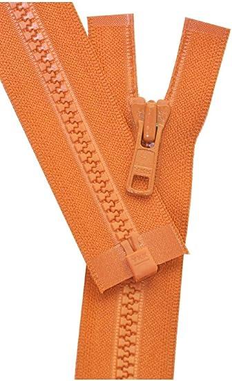Vislon Sport Separating Zipper 22-Burnt Orange