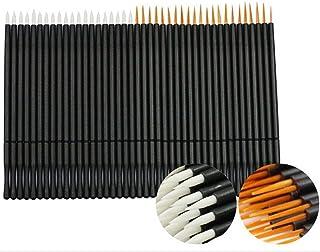 100 قطعة من عصا الماسكارا السيليكونية المخصصة لتحديد العيون من كوشاين، فرش تحديد الشفاه، أدوات المكياج CS-2017015