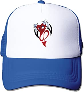 Funny Heart Couple Tattoo Design Mesh Cap Black