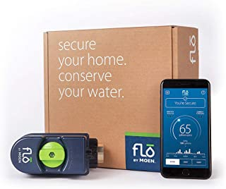 Moen 900-001 Flo by Moen 3/4-Inch Leak Detection Smart Home Water Security System