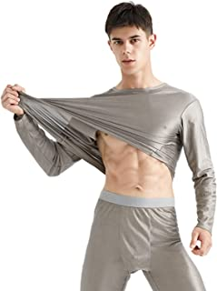 CCCYT Anti radiation protection underwear EMF protection shielding boxers/brief for men Long Sleeve Tops Underwear Leg Bot...