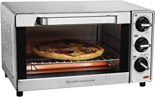 Hamilton Beach 31401 Toaster Oven, Pizza Maker, Large Capacity, Stainless Steel