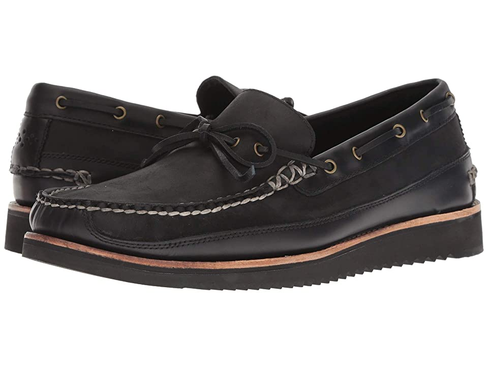 Cole Haan Pinch Rugged Camp Moccasin Loafer (Black/Black) Men
