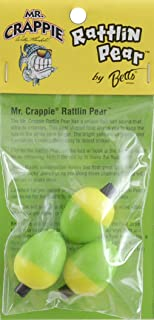 mr crappie rattlin pear floats