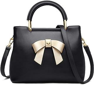 FOXER Women Leather Handbags Purse Top Handle Crossbody Bag Leather Tote Shoulder Bag