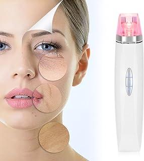 Masajeador vibratorio facial antienvejecimiento levantar limpiar instrumento de masaje de arrugas de eliminaci/ón de iones de alta frecuencia de mano para reafirmar #1 rejuvenecer la piel facial
