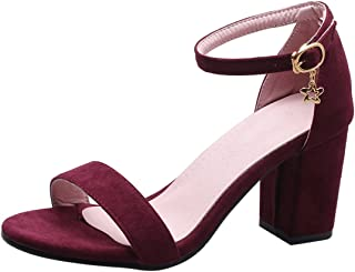 ZapatosY Zapatos esGranate Mujer Amazon Para b7mgYIyvf6