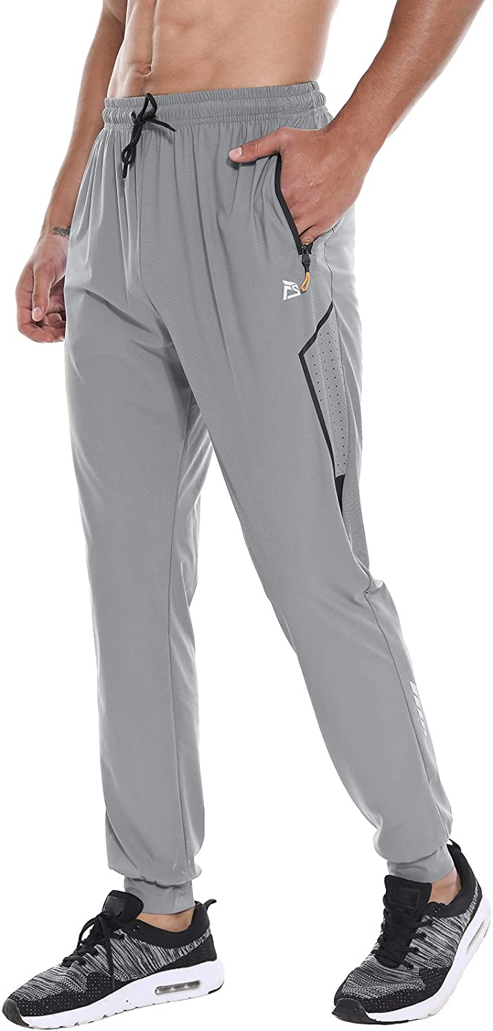 FEDTOSING Men's Lightweight Jogger shopping Pants Work Athletic Rapid rise Quick Dry