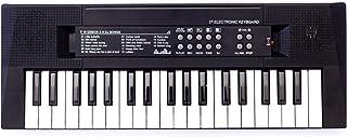 yeesport Keyboard Musical Toy 37 Key Developmental Kids Piano Keyboard with Microphone