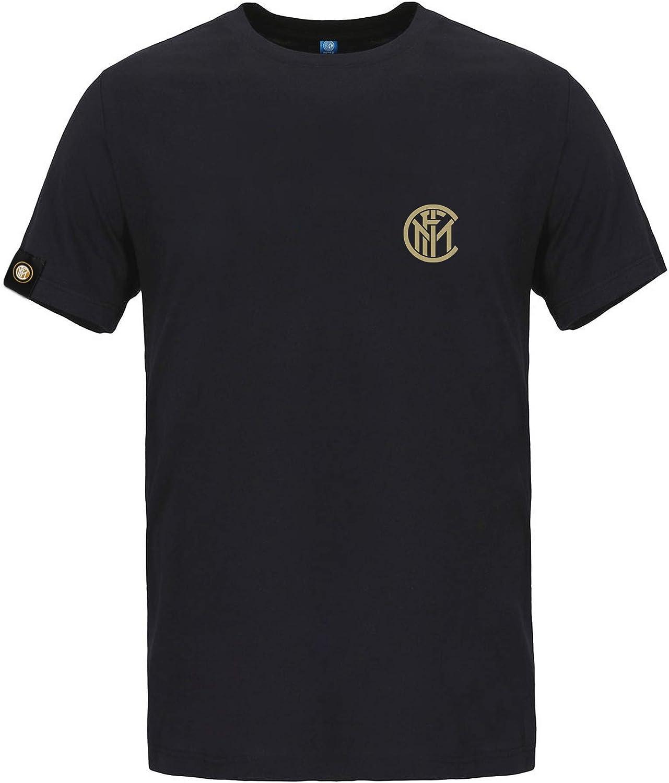 Inter T-Shirt Triplete-Timeless 2010 Stampa Orizzontale Horizontal Print