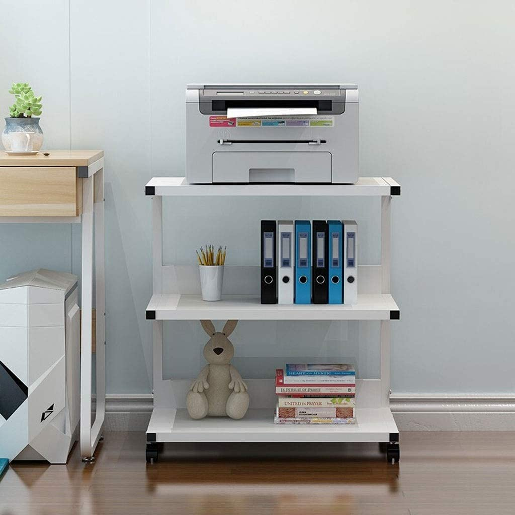 Printer Stand Shelf 3 Mobile Max 76% OFF latest Tiers Cart wi