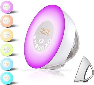 Alarm Clock,Wake up Light For Kids,Best Sunrise FM Radio Alarm Clocks with