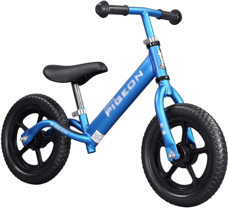 nueva marca LPYMX Bicicletas Bicicletas Bicicletas sin Pedales para Niños Bicicleta de Equilibrio for Niños Bicicleta de Entrenamiento for Niños pequeños de 2 a 7 años Bicicleta de Equilibrio Infantil (Color   azul)  gran descuento