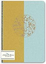 Alibabette Editions Paris Fleurs de Lotus Mini Exercise Notebook, 6.75 by 4.75