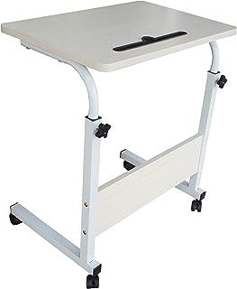 طاولة إس بلس متنقلة للسرير - قابلة للتعديل - مكاتب محمولة - حامل الكمبيوتر والحاسوب الشخصي - 60x40
