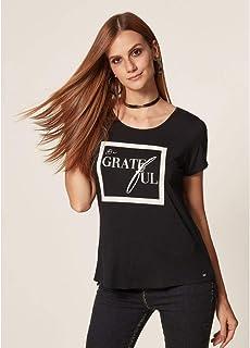 T-Shirt Malha Be Grateful