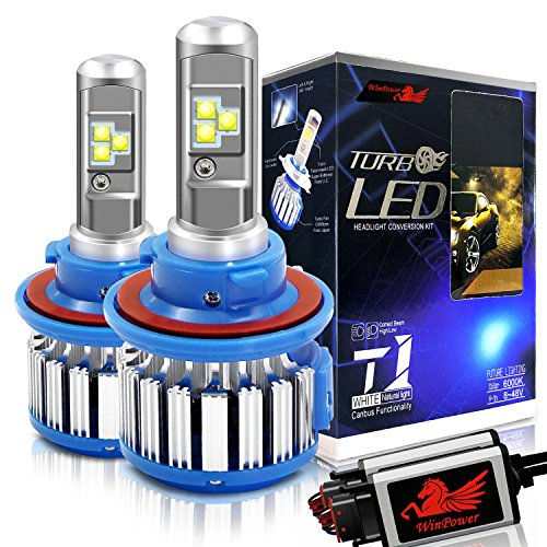 WinPower H13 LED Headlight Bulbs 9008 CREE 70W 7200LM 6000K Cool White Dual High...