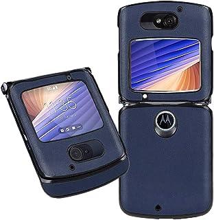 MOONCASE Case for Motorola Razr 5G, Luxury Leather Flip Phone Case Slim Fit Shockproof Protective Shell Cover for Motorola...