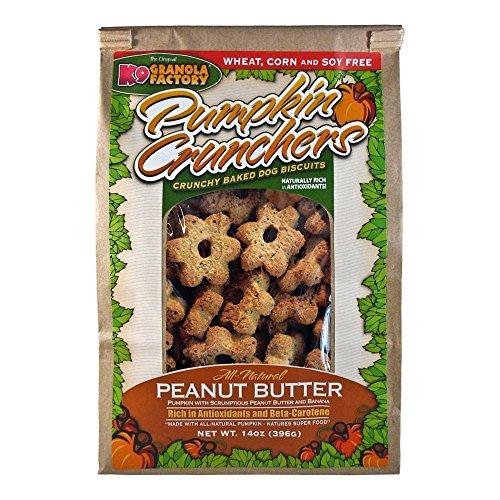 Pumpkin Crunchers Dog Treat Peanut Butter 14oz