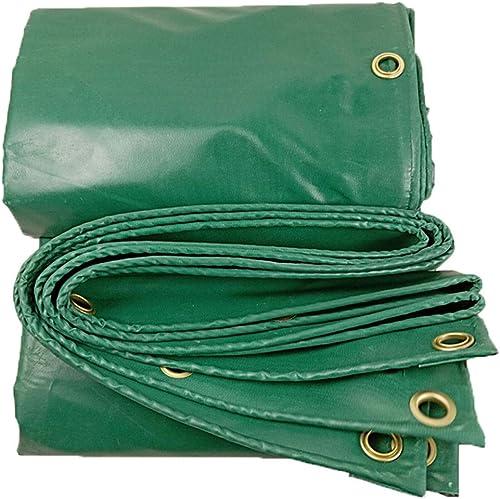 KYSZD-Baches Imperméabilisez Le Tissu Enduit par PVC de bache de Rideau en Pluie de Poncho imperméable 450g   m2 utilisé pour la Famille en Dehors de Camping Jardin