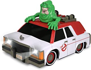Ghostbusters latest ECTO-1 length 16 cm deformed type electric car light-up slimer