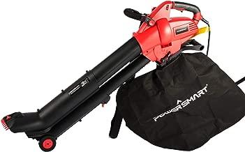 PowerSmart 12-Amp Powerful Electric 3-in-1 Leaf Blower/Vacuum/Mulcher