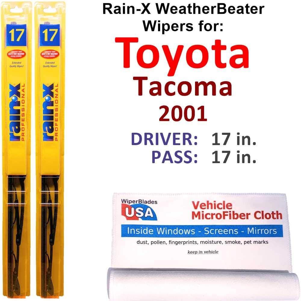 Rain-X WeatherBeater Wiper Blades for Toyota Popularity Rai Set Lowest price challenge 2001 Tacoma