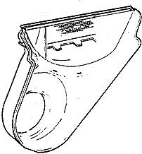 Ge WE14X25080 Dryer Lint Chute Assembly Genuine Original Equipment Manufacturer (OEM) Part