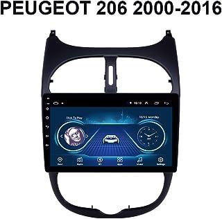 JVC auto radio para peugeot 206 autoradio Android 4 x 50 vatios automóvil kit de integracion mp3 USB