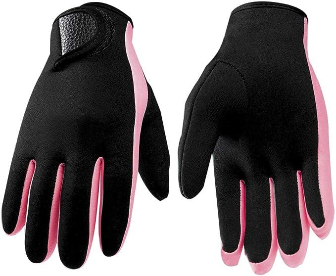 WYYHAA 5Mm Neoprene Adult Wetsuit Gloves Super Stretch Scuba Diving Watersport Kayaking Gloves Anti-Scratch Swimming Gloves for Women Men