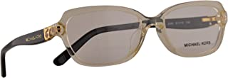 MK 4025F Sadie IV Eyeglasses 51-16-135 Champagne Black w/Demo Clear Lens 3086 MK4025F