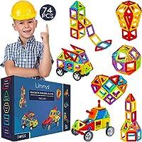 MAI TROPPO GRANDI PER DIVERTIRSI – Grazie a questo gioco di costruzioni magnetiche, dai 5 anni ai 95 anni, trascorrerai ore di divertimento. Migliora la creatività, la logica e l'immaginazione. Mantiene i bambini occupati mentre migliora le capacità ...