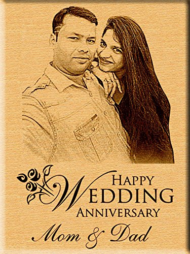 Incredible Gifts India Personalized Wedding Anniversary Gift - Engraved Photo Plaque (7 Inches X 5  sc 1 st  Amazon.in & Anniversary Gift: Buy Anniversary Gift Online at Best Prices in ...