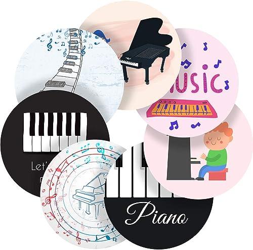 Piano Sounds Belohnung Aufkleber Etiketten, 70 fkleber @ 2,5cm Zoll, Hochglanz-Qualität, ideal für Kinder Eltern Lehrer Schulen  te Krankenschwestern Optiker, 35 Stückers @ 1.4  inch