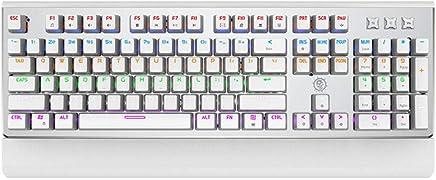 Tastiera Meccanica Vera Tastiera Meccanica Internet Cafè Giochi Periferiche Giochi Per Computer Cavo Bianco - Trova i prezzi più bassi