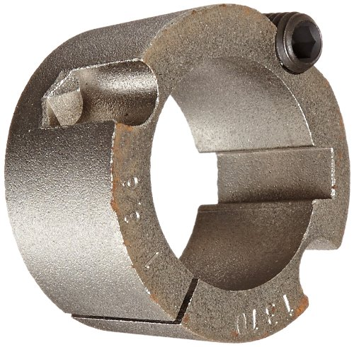 "Martin 1310 1 3/8 Taper Bushing, Sintered Steel, Inch, 1.38"" Bore, 2"" OD, 1"" Length"