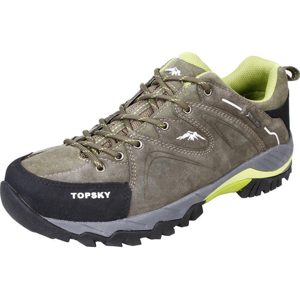 Topsky 远行客 户外登山鞋 男鞋耐磨越野跑鞋低帮爬山轻便徒步鞋防滑户外鞋子 休闲透气运动鞋 21907A