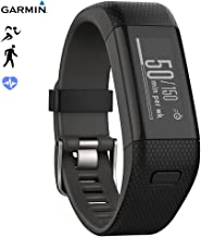 Garmin Vivosmart HR+ Activity Tracker Regular Fit, Black (010-N1955-36) - (Renewed)