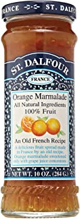 St. Dalfour Orange Marmalade Fruit Spread, 10 Ounce