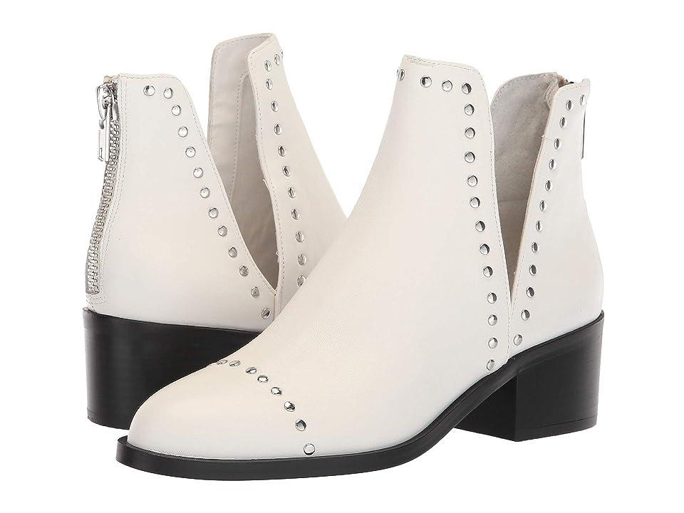 Steve Madden Conspire Bootie (White Leather) Women