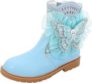 LOBTY filles bottes pour enfants automne et hiver Nouvelles petites bottes en coton pour filles de princesse ainsi que bot...
