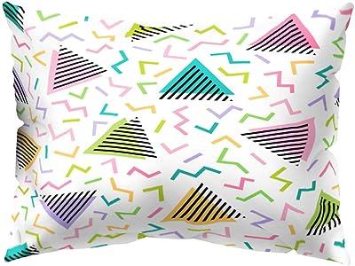 Amazon.com: zsbdb5edvq Polyester Peach Skin Pillowcase ...