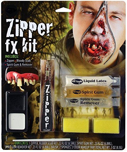 Deluxe Zipper Fx Kit - Devil