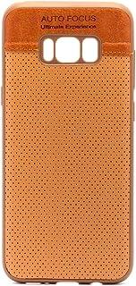 اوتو فوكس غطاء حماية لجوال سامسونج جالكسي اس 8 بلس ، بني