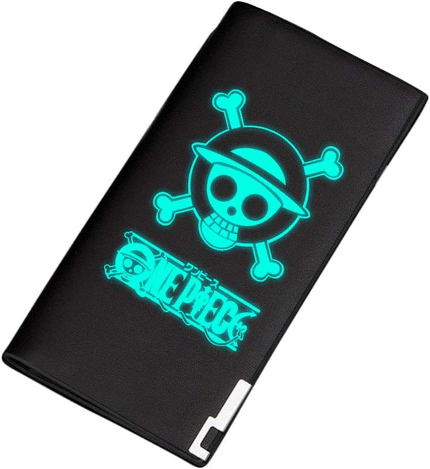 Gumstyle One Piece Anime Luminous Artificial Leather Wallet Billfold Money Clip Bifold Card Holder 2