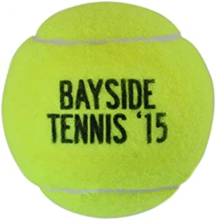 ChalkTalkSPORTS Personalized Printed Tennis Ball | Team Name and Year | Single or 3 Ball Can