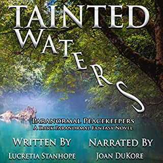 Tainted Waters: A Dark Paranormal Fantasy Novel audiobook cover art