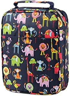 YWSCXMY-AU Creative Cartoon Animal Flower Print 150 Large Capacity Color Pencil Bag Multi-Function Pencil Bag Pen Box Art Supplies (Color : Animal)