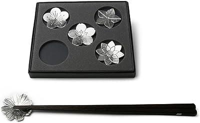 能作 501716 箸置 – 花ばな(カトラリーレストH0.2cm φ4.2cm)